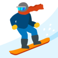 Snowboarder on Google Android 7.1