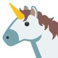 Unicorn Face on Google Android 7.1