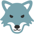 Wolf Face on Google Android 7.1