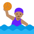 Woman Playing Water Polo: Medium Skin Tone on Google Android 7.1