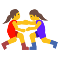 Women Wrestling on Google Android 7.1
