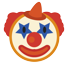 Clown Face on HTC Sense 8