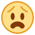 Anguished Face on HTC Sense 7