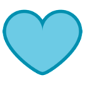 Blue Heart on HTC Sense 7