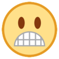 Grimacing Face on HTC Sense 7