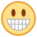 Grinning Face on HTC Sense 7