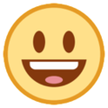 Smiling Face With Open Mouth on HTC Sense 7