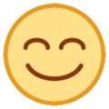 Smiling Face With Smiling Eyes on HTC Sense 7