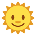 Sun With Face on HTC Sense 7