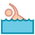 Person Swimming on HTC Sense 7