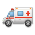Ambulance on LG G5