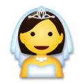 Bride With Veil on LG G5