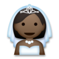 Bride With Veil: Dark Skin Tone on LG G5