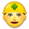 Construction Worker on LG G5