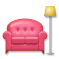 Couch and Lamp on LG G5