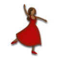 Woman Dancing: Medium-Dark Skin Tone on LG G5