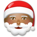Santa Claus: Medium-Dark Skin Tone on LG G5