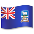 Falkland Islands on LG G5