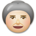 Old Woman: Medium-Light Skin Tone on LG G5