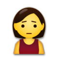 Person Frowning on LG G5