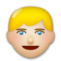 Blond-Haired Person: Medium-Light Skin Tone on LG G5