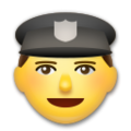 Police Officer on LG G5