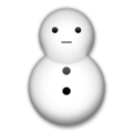 Snowman Without Snow on LG G5