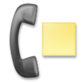 Telephone Receiver with Page on LG G5
