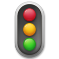 Vertical Traffic Light on LG G5