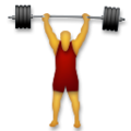 Person Lifting Weights on LG G5