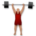 Person Lifting Weights: Medium Skin Tone on LG G5