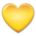 Yellow Heart on LG G5