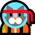 Astro Cat on Microsoft Windows 10 Fall Creators Update
