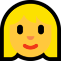 Blond-Haired Woman on Microsoft Windows 10 Fall Creators Update