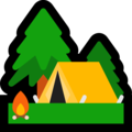 Camping on Microsoft Windows 10 Fall Creators Update