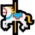 Carousel Horse on Microsoft Windows 10 Fall Creators Update