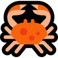 Crab on Microsoft Windows 10 Fall Creators Update