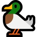 Duck on Microsoft Windows 10 Fall Creators Update