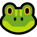 Frog Face on Microsoft Windows 10 Fall Creators Update