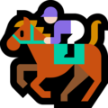 Horse Racing: Light Skin Tone on Microsoft Windows 10 Fall Creators Update