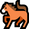Horse on Microsoft Windows 10 Fall Creators Update