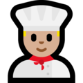 Man Cook: Medium-Light Skin Tone on Microsoft Windows 10 Fall Creators Update