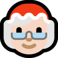 Mrs. Claus: Light Skin Tone on Microsoft Windows 10 Fall Creators Update