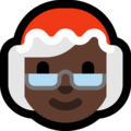 Mrs. Claus: Dark Skin Tone on Microsoft Windows 10 Fall Creators Update
