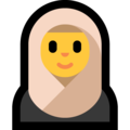 Woman With Headscarf on Microsoft Windows 10 Fall Creators Update