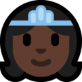 Princess: Dark Skin Tone on Microsoft Windows 10 Fall Creators Update