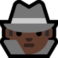 Detective: Dark Skin Tone on Microsoft Windows 10 Fall Creators Update