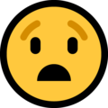 Anguished Face on Microsoft Windows 10 April 2018 Update