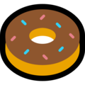 Doughnut on Microsoft Windows 10 April 2018 Update