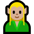 Elf: Medium-Light Skin Tone on Microsoft Windows 10 April 2018 Update